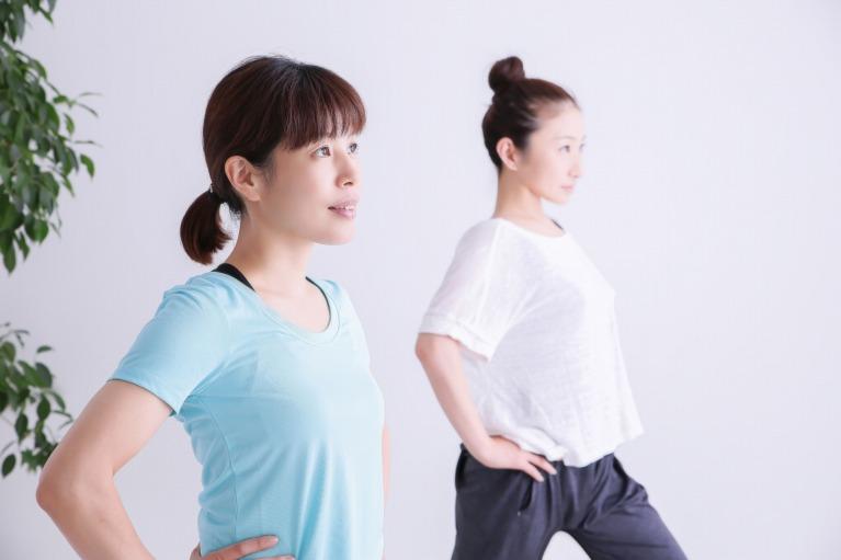 閉経後や出産後には膀胱や骨盤のトレーニングを